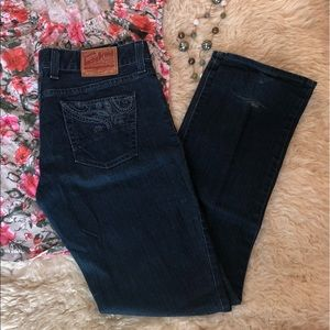 Lucky Brand Pasha Lola Straight Leg Jeans 8/29